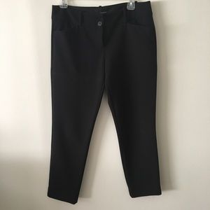 Size 6R The Limited Black Work Crops